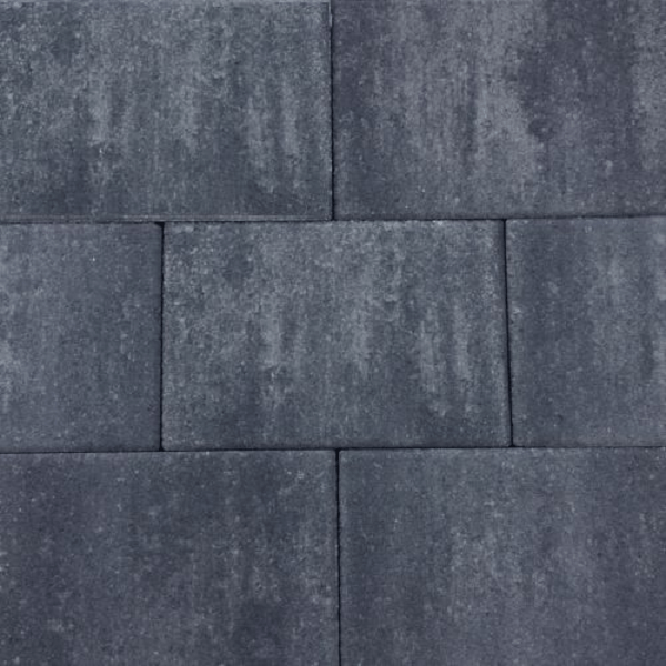 Design Square 30x20x6cm Nero-Grey