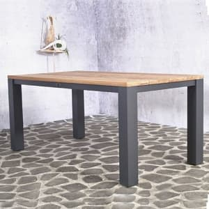 Boston teak tafel | Timmerman Sierbestrating